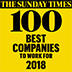 Sunday Times Top 100 Companies to work for