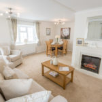 Lounge of Residential Home at Bowland Fell