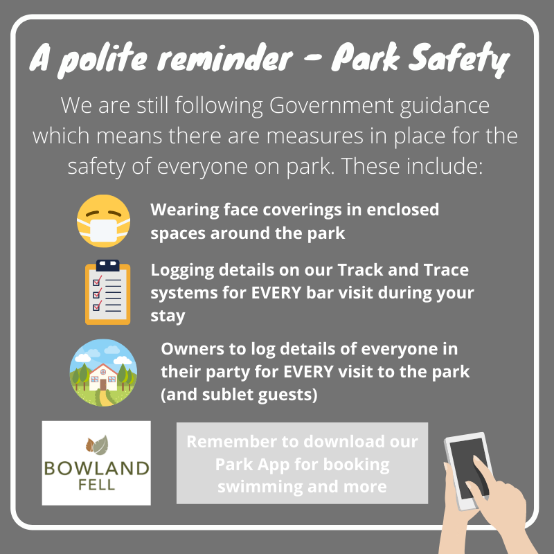 Park safety at Bowland Fell