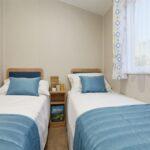 Willerby Malton twin bedroom